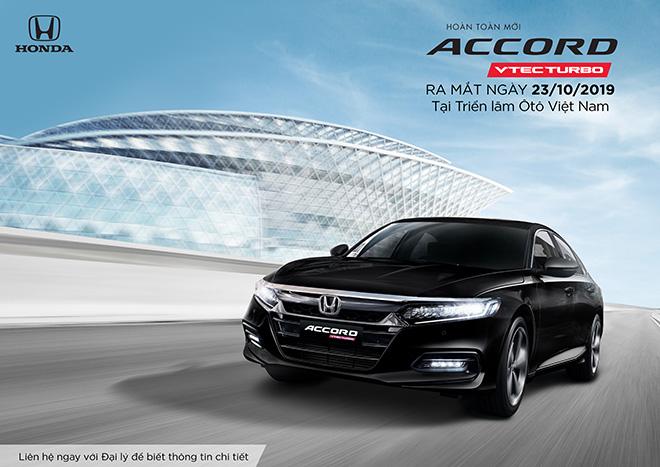 Honda Accord thế hệ thứ 10 ra mắt thị trường Việt Nam từ tháng 10/2019, nhận đặt xe từ 23/09/2019 - 1