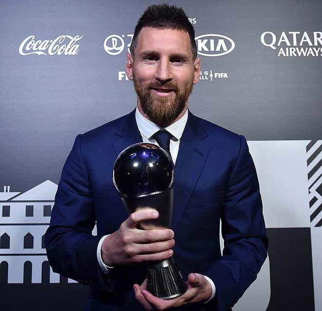 Messi đoạt giải The Best: Bầu cho Ronaldo, CR7 vì sao không dự? - 1