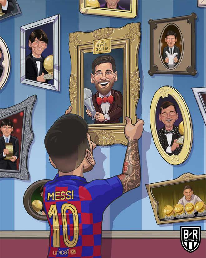 """Messi thắng Van Dijk giành """"The Best"""": Nghe vô lí nhưng lại rất thuyết phục - 1"""