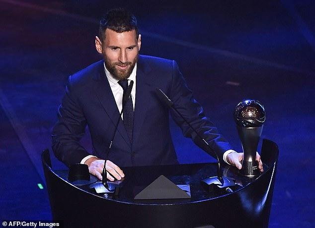 Trao giải FIFA The Best: Messi đánh bại Ronaldo - Van Dijk, vinh danh HLV Klopp - 1