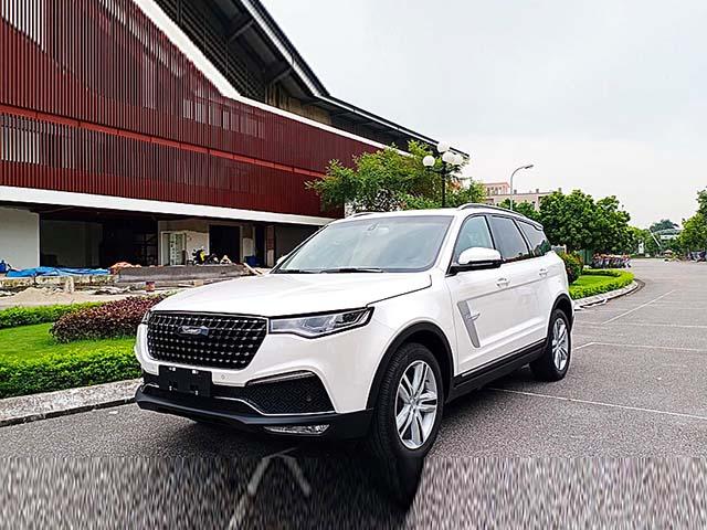 Zotye Z8 - mẫu SUV 7 chỗ của thương hiệu xe Trung Quốc có mặt Việt Nam