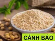 Tin tức sức khỏe - Bột mầm đậu nành có tác dụng gì? Nên hay không nên uống bột mầm đậu nành?