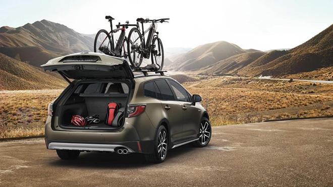 Toyota Corolla có thêm phiên bản Trek kết hợp với hãng xe đạp - 3