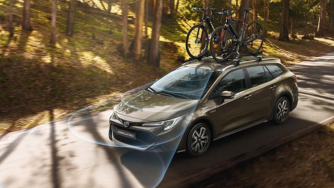 Toyota Corolla có thêm phiên bản Trek kết hợp với hãng xe đạp - 1