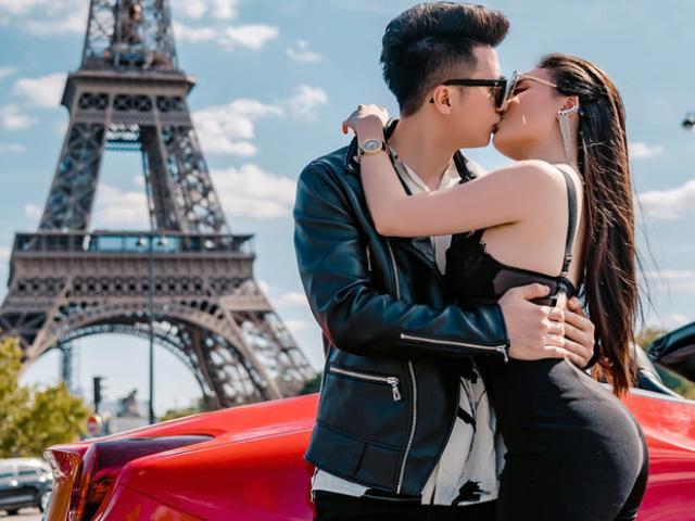 """Sau hủy hôn """"phi công"""" Hà Duy, nữ giảng viên bốc lửa tung ảnh cưới bên siêu xe Ferrari"""