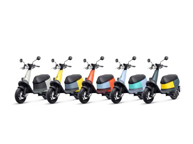 Xe điện Gogoro Viva đầy màu sắc, đốn tim giới trẻ