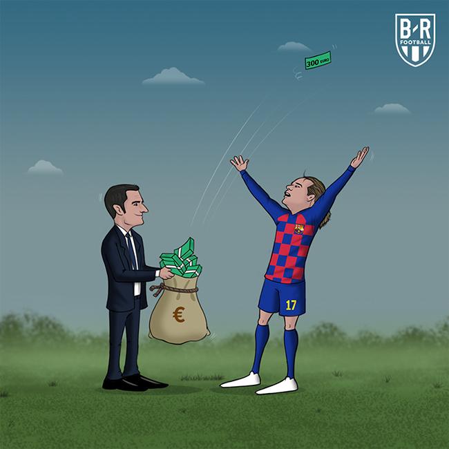 """Barca bị """"phạt nặng"""" sau thương vụ Griezmann."""