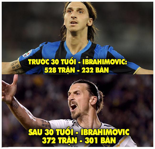 """Ibrahimovic chứng minh cho câu """"gừng càng già càng cay""""."""
