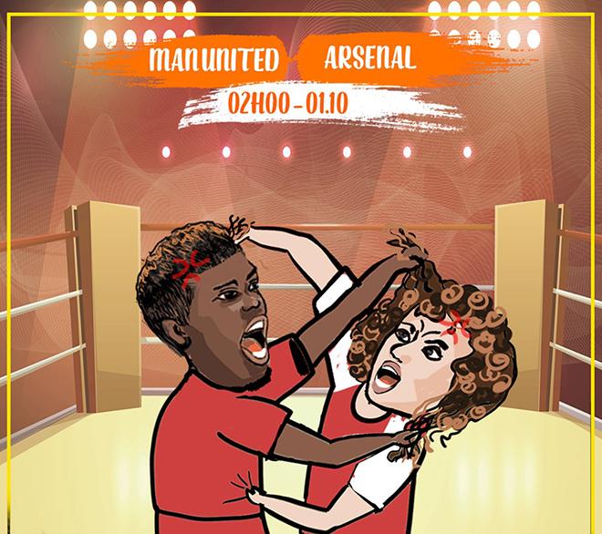 """Ảnh chế: HLV Wenger muốn """"giải cứu"""" MU trước đại chiến với Arsenal - 1"""