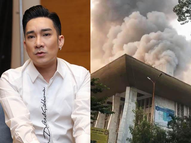 Quang Hà sốc nhập viện, tổn thất 8 tỷ đồng khi phải hủy show diễn vì Cung Việt Xô cháy