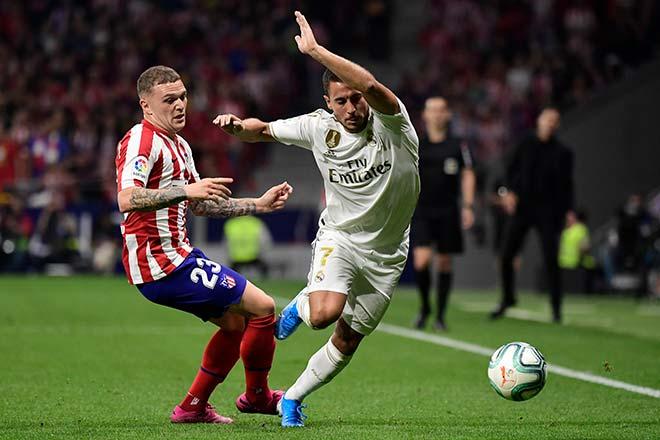 """Video highlight trận Atletico Madrid - Real Madrid: Nghẹt thở derby, """"Người nhện"""" xuất thần - 1"""