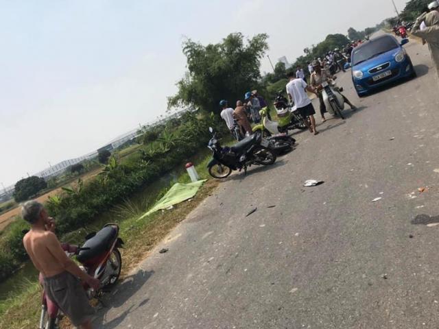 Xe tải đâm hàng loạt phương tiện, 2 học sinh tử vong trên đường đi học về