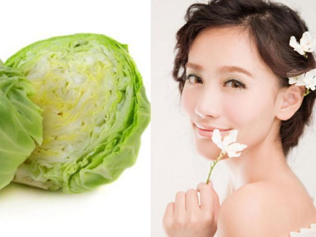 Vừa ăn, vừa uống, ăn bắp cải để da sáng hồng lên tông mỗi ngày