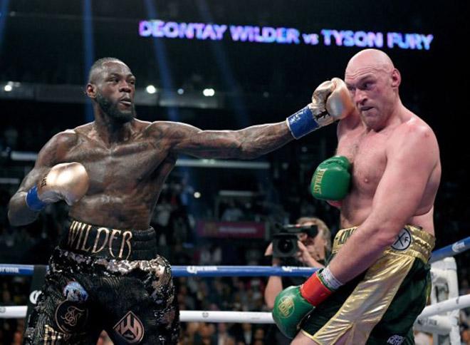 """Rung chuyển Vua boxing hạng nặng: Wilder nói câu như """"đấm vào mặt"""" Joshua - 1"""