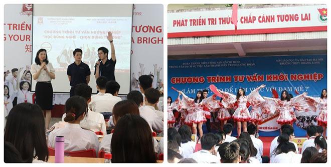 Chương trình hoạt động ngoại khoá của nhà trường THPT Hoàng Long – Hanoi Tokyo - 1