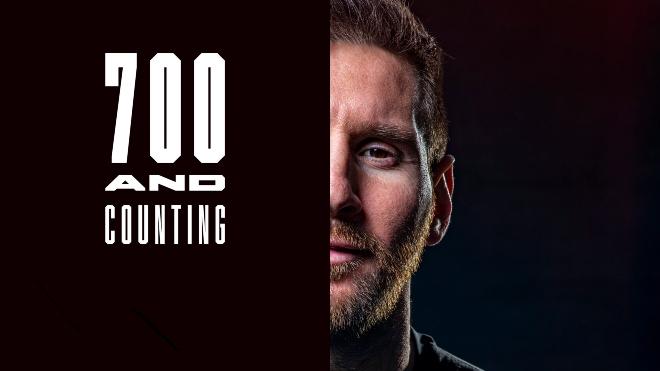 Messi đại phá siêu kỷ lục 700 bàn: Choáng ngợp cú panenka mãn nhãn - 1