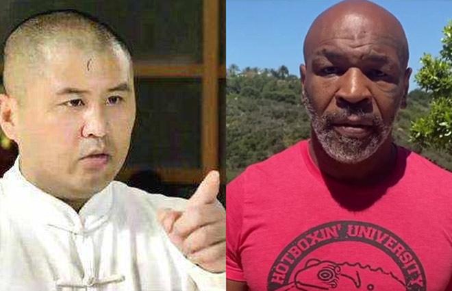 """Mike Tyson 54 tuổi đấm như """"súng máy"""" vẫn bị võ sư Trung Quốc dìm hàng - 1"""