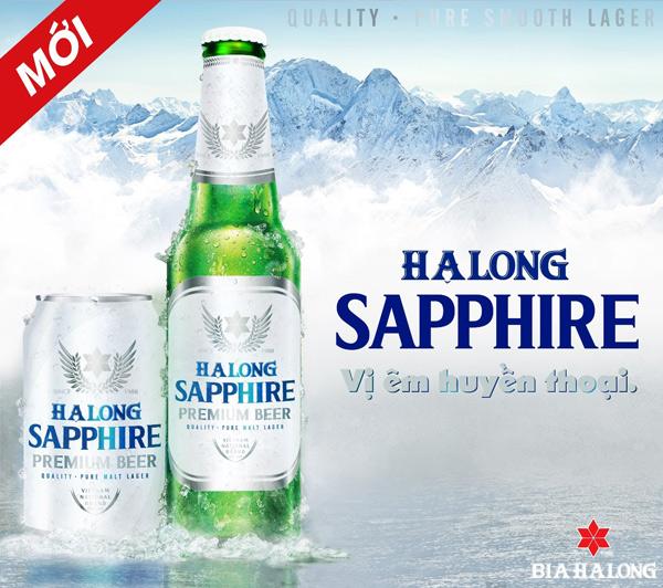 Ra mắt bia Hạ Long Sapphire - 1