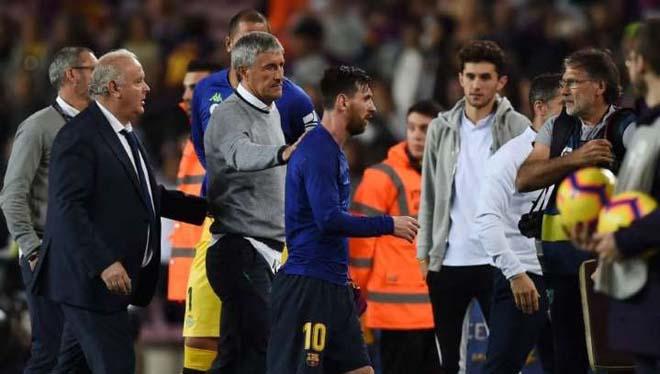 """""""Ông trùm"""" Messi nổi giận: Barca tính lần 2 đuổi HLV, tướng mới lộ diện? - 1"""