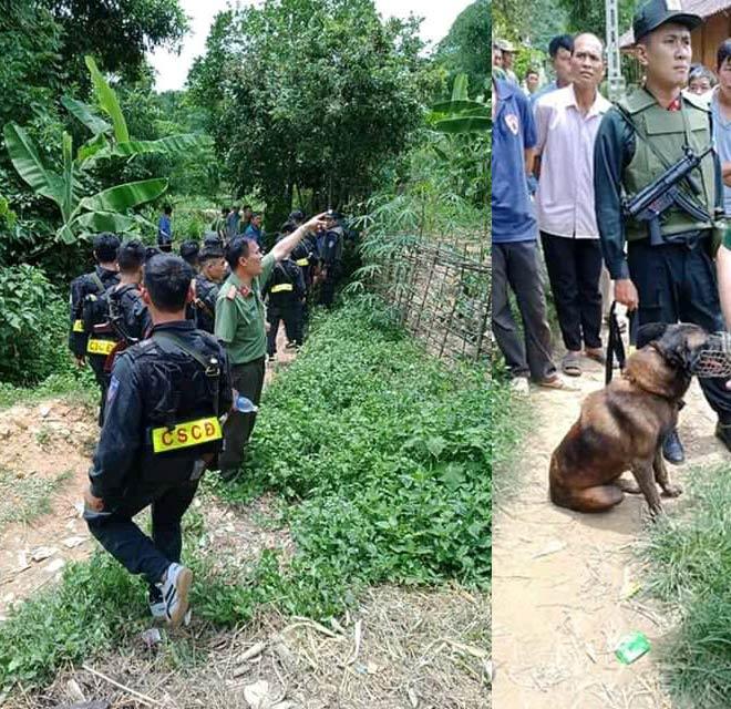 Đã bắt được nghi phạm trốn vào rừng sau khi sát hại hàng xóm thân thiết - 2