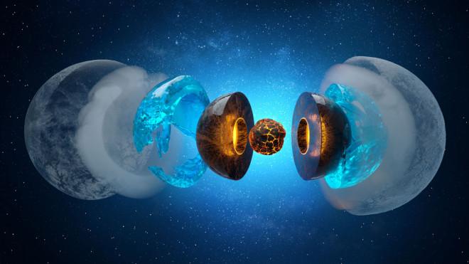 Hệ mặt trời có 2 hành tinh đang đổ mưa kim cương - 1