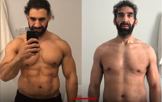 Lực sỹ cơ bắp cuồn cuộn thoát chết thần kỳ vì Covid-19: Biến hình giảm 27kg - 1