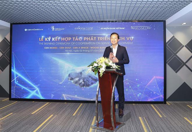 Cen Group ký kết hợp tác với Woori Bank Việt Nam phát triển dịch vụ tài chính điện tử - 1