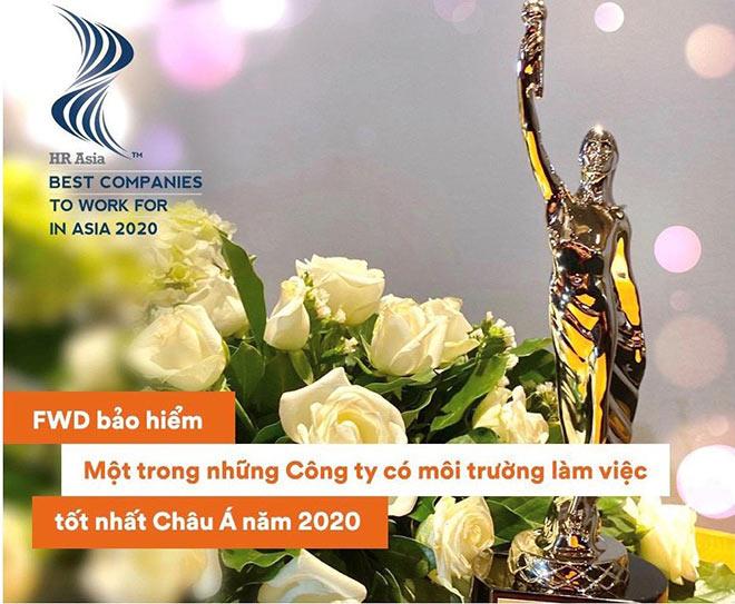 FWD Việt Nam được vinh danh là một trong những công ty có môi trường làm việc tốt nhất Châu Á - 1