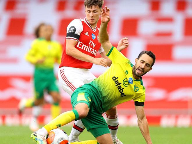 Video highlight trận Arsenal - Norwich City: Sai lầm tai hại, đại tiệc 4 bàn - 1