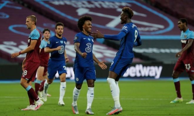Video highlight trận West Ham - Chelsea: Rượt đuổi nghẹt thở, ác mộng phút 89 - 1