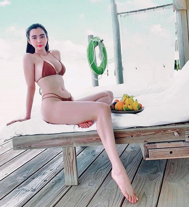 Để có được số đo hiện tại, Huỳnh Vy dành nhiều thời gian cho việc tập gym và yoga. Tính đến nay, cô đã tập yoga được khoảng 5 năm.