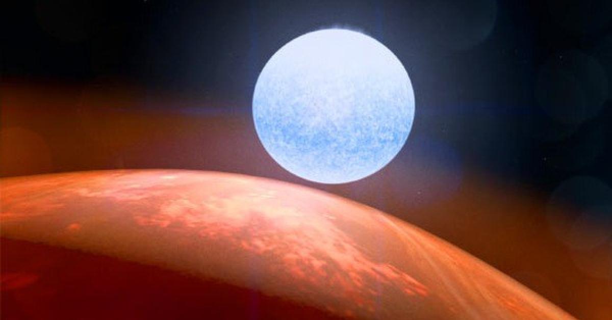 """Phát hiện hành tinh """"xuyên không"""" nặng gấp 922 lần Trái Đất - 1"""