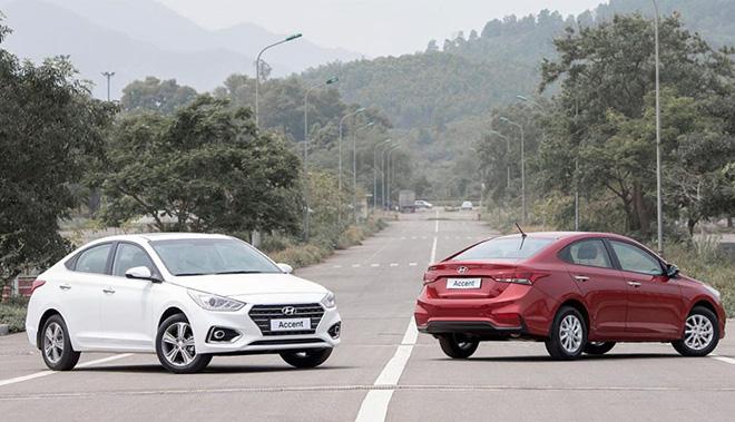 Giá xe Hyundai Accent lăn bánh giảm 50% trước bạ trong tháng 7/2020 - 1