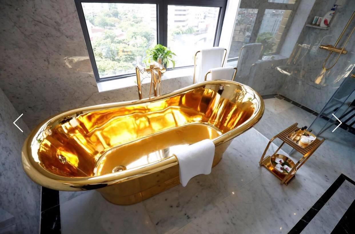 Khách sạn siêu sang dát vàng ở Việt Nam lên báo nước ngoài - 1