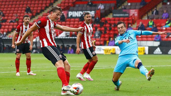 Video highlight trận Sheffield United - Tottenham: Bất ngờ 4 bàn, dập tắt hy vọng - 1