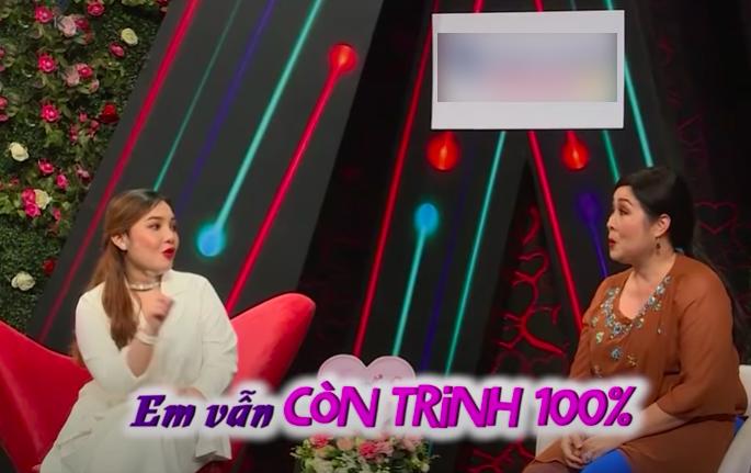 Hồng Vân hỏi chuyện trinh tiết với cô gái 21 tuổi trên sóng truyền hình gây tranh cãi dữ dội - 1
