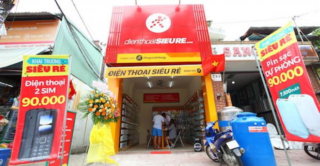 Chuỗi cửa hàng Điện Thoại Siêu Rẻ của ông Nguyễn Đức Tài phải ngậm ngùi đóng cửa - 1