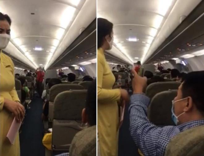 """Người nói """"can ngăn"""" vụ gây rối trên máy bay bị cấm bay 1 năm - 1"""