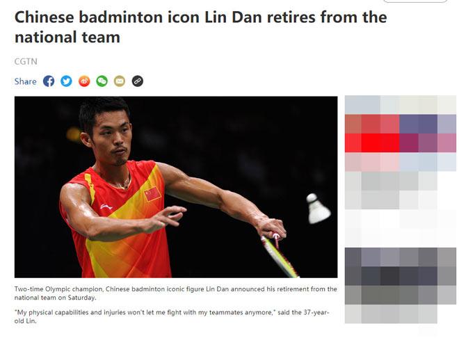 Huyền thoại cầu lông Lin Dan giải nghệ khi không được dự Olympic - 1
