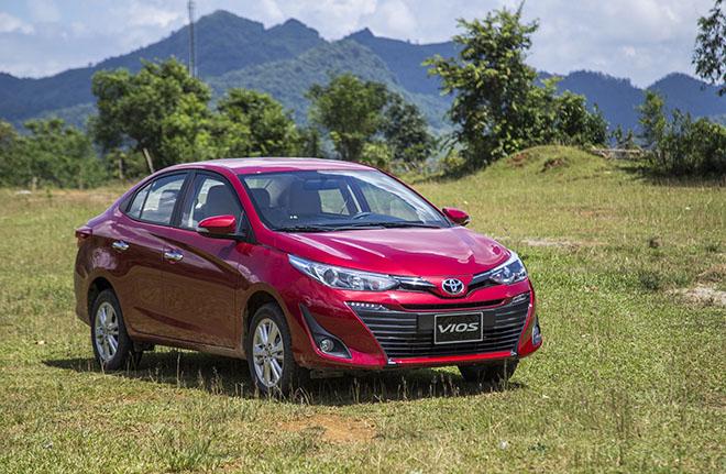 Giá xe Toyota Vios lăn bánh giảm 50% phí trước bạ tháng 7/2020 - 1