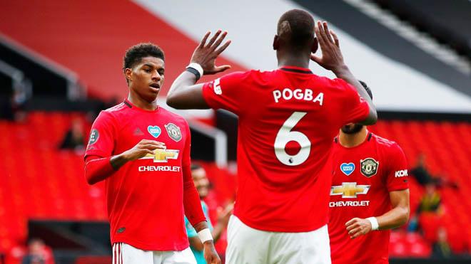"""Video highlight trận MU - Bournemouth: Đại tiệc 7 bàn, uy lực """"cơn lốc đỏ"""" - 1"""
