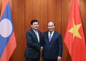 Lãnh đạo nước ngoài đầu tiên thăm Việt Nam sau dịch COVID-19 - 1