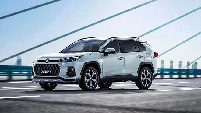 Suzuki ra mắt mẫu xe Across có phong cách thiết kế hao hao Toyota RAV4 mới - 1