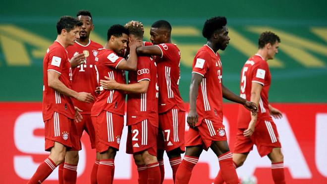 Video highlight trận Leverkusen - Bayern Munich: Mãn nhãn bàn thắng, xứng đáng vô địch - 1