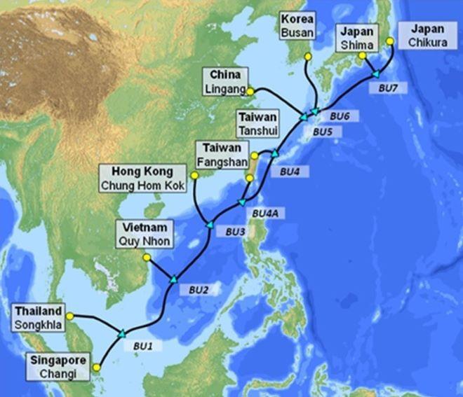 Việt Nam có thêm tuyến cáp quang biển SJC2, cập bờ tại Quy Nhơn - 1