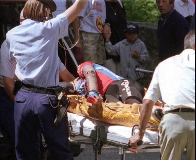 Chấn động làng đua xe: Bi kịch cua-rơ 20 tuổi bị đột tử khi đang đua - 1