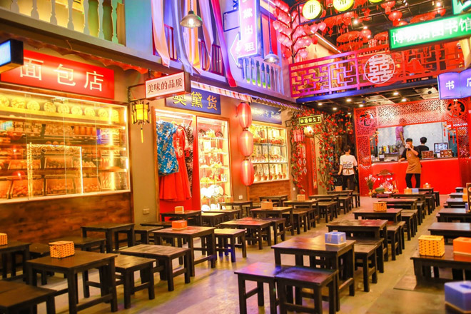 Không phải trà sữa, trà chanh, giới trẻ tìm đến quán chè mang phong cách Thượng Hải - 1