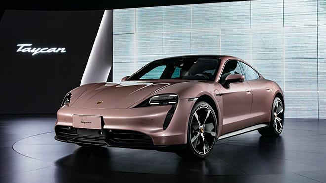 Xe điện Porsche Taycan phiên bản tiêu chuẩn chỉ 2,9 tỷ đồng tại Trung Quốc - 1