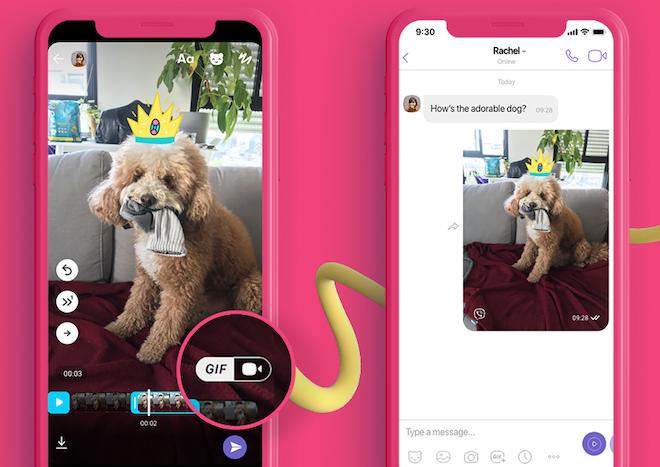 Viber tung tính năng tạo ảnh động GIF siêu tốc và miễn phí - 1