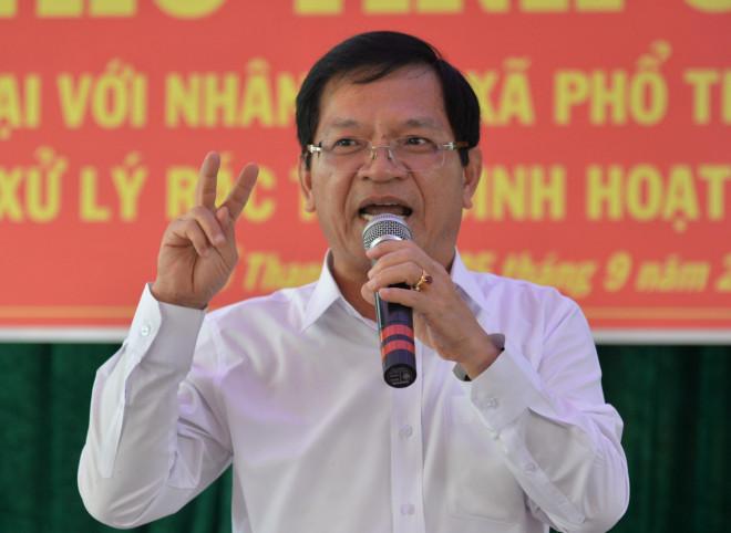 Công an điều tra về quyết định cho thôi chức ông Lê Viết Chữ bị tung lên mạng xã hội - 1